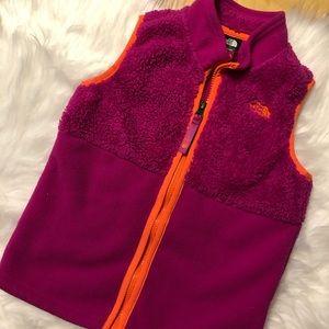 North Face Fleece Vest Girls 5